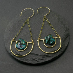 Serenity Earrings - Blue
