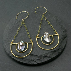 Serenity Earrings - Grey