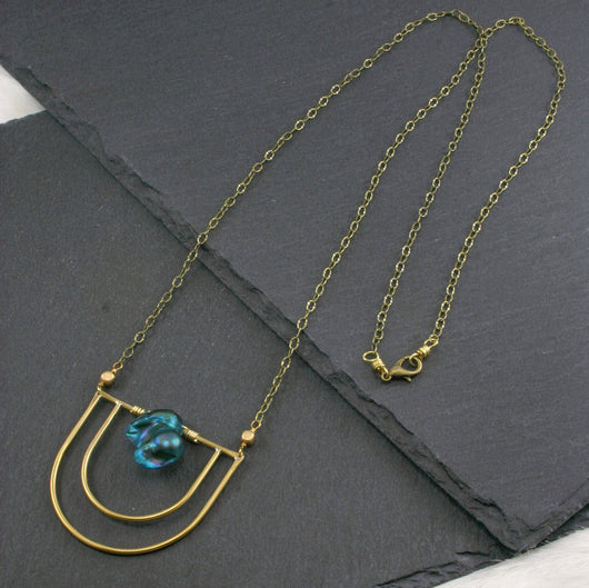 Serenity Necklace - Blue