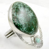 Sunburst Ring F - OOAK - size 8.5
