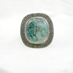 Sunburst Ring G - OOAK - size 7