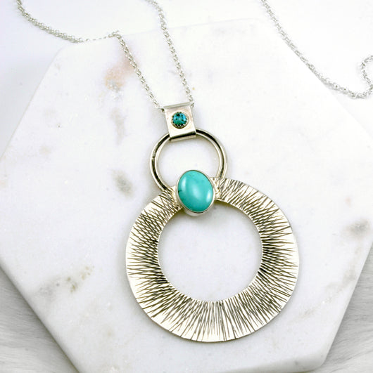 Sunburst OOAK Necklace