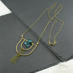 Transformation Necklace - Blue