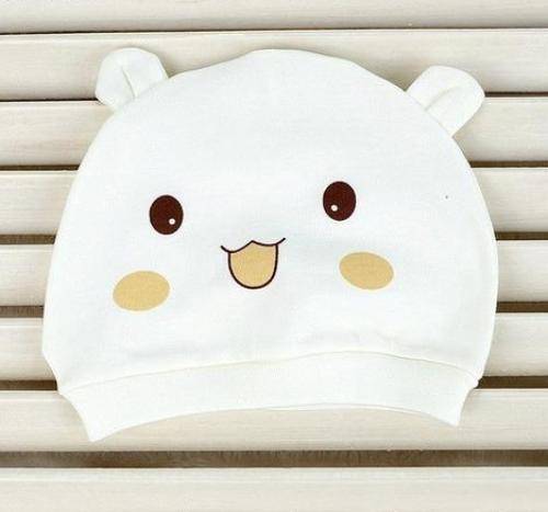 Cartoon Newborn Care Cap