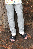 Light Gray Sweatpant Joggers- Size 7 or 8