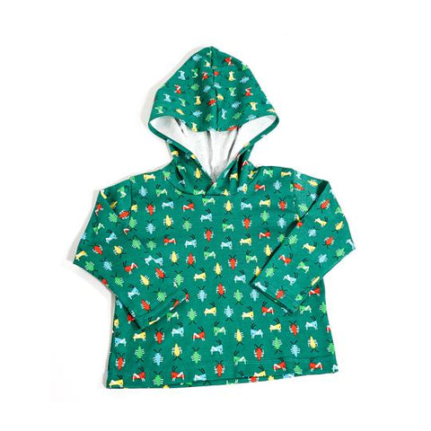 Organic Cotton Bug Hoodie- Size XXS (2) Only