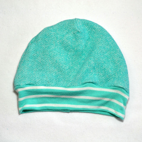 Light Teal Beanie- Baby, Kid and Large Sizes