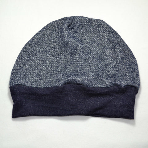 Navy Beanie- Baby, Kid and Large Sizes