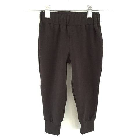 Cozy Black French Terry Sweatpant Joggers