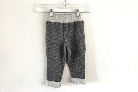 Cozy Marled Gray Sweatpant Joggers