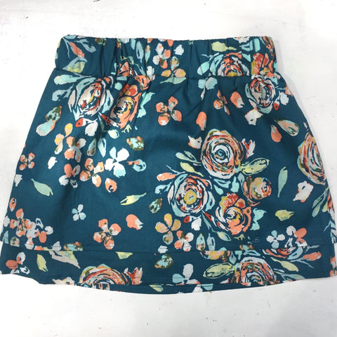 Floral Cotton Skirt- Size 3