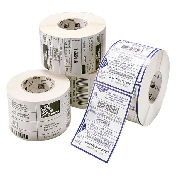 Z-PERFORM 2000D 4INx6IN COATED BRIGHT WHITE ACRYLIC ADHESIVE 430 LABELS PER ROLL