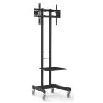Atdec TV Cart Black Mobile cart for medium and large displays