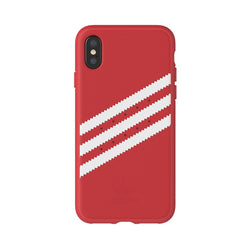Adidas Originals Moulded Case suits iPhone X - Red/White