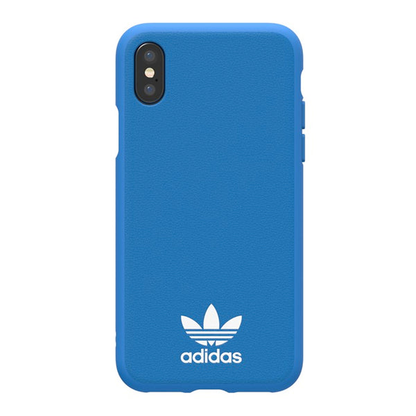 Adidas Originals Basic Logo Case suits iPhone X - Blue/White