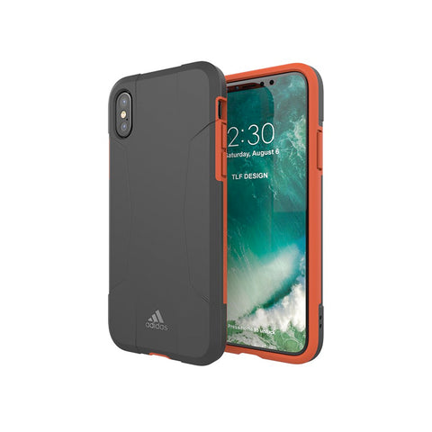 Adidas Performance Solo Case suits iPhone X - Black/Red