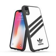 "Adidas Originals Classic Moulded Case suits iPhone XR (6.1"") - White/Black"