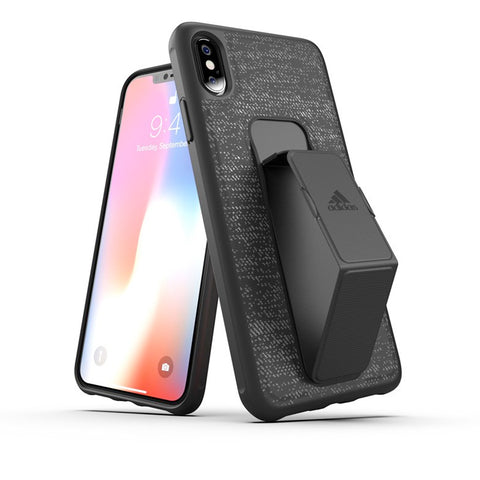 "Adidas Sport Grip Case suits iPhone Xs Max (6.5"") - Black"