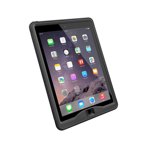 LifeProof Nuud Case suits iPad Air 2 - Black/Black