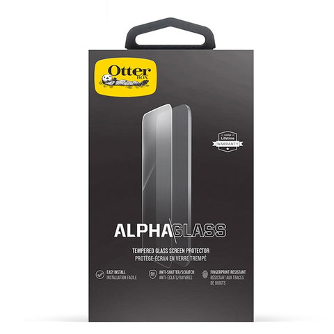 "OtterBox Clearly Protected Alpha Glass suits iPhone XR (6.1"")"