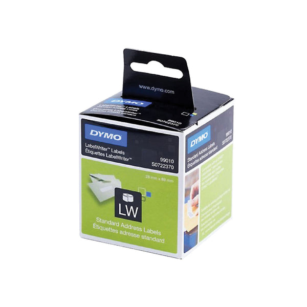 DYMO LabelWriter Address Labels 28mm x 89mm S0722370