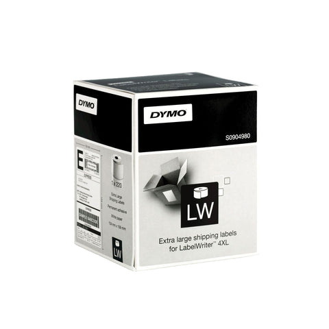 "DYMO LabelWriter Extra Large Shipping Labels 6"" x 4"" [4xl]"
