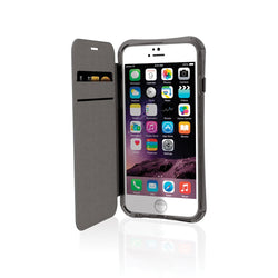 EFM Miami Wallet Case suits iPhone 6/6S - Jet Black