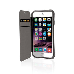 EFM Miami Wallet Case suits iPhone 6 Plus/6S Plus - Jet Black