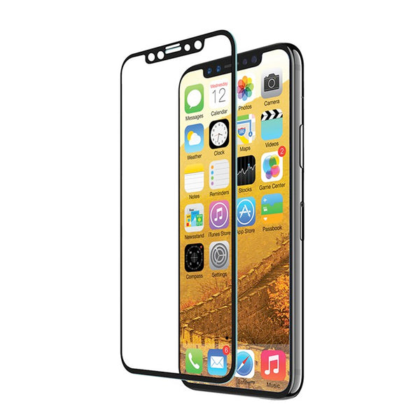 EFM TT Sapphire Glass Screen Armour suits iPhone X - Clear/Black