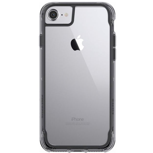 Griffin Survivor Clear for iPhone 7/6S - Black/Smoke