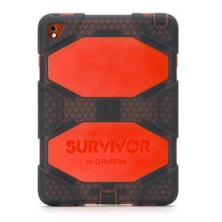 Griffin Survivor All Terrain Tablet - iPad Air 2/Pro 9.7 Smoke Tomato