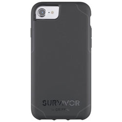 Griffin Survivor Journey for iPhone 7 / 6S - Black/Deep Grey