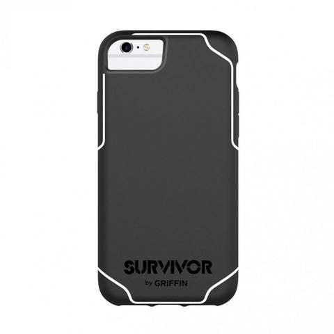 Griffin Survivor Journey for iPhone 7 / 6S - Black/White