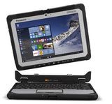 "(NQR) Panasonic Toughbook CF-20 (10.1"" Detachable) Mk1 with 4G (Band28), 12 Point Satellite GPS, 256GB SSD, 8GB Ram."