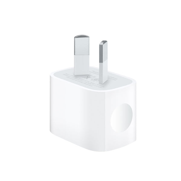 Apple 5W USB POWER ADAPTER - REQUIRES USB CABLE (SOLD SEPARATELY) - COMPATIBLE WITH ANY IPHONE / IPAD MINI / IPOD MODELS