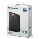 "WD HDD 2.5"" External USB3 2TB Elements Portable"