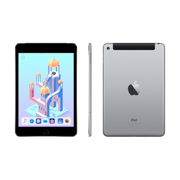 Apple IPAD MINI 4 WI-FI + CELLULAR 128GB - SPACE GREY / 7.9-INCH LED-BACKLIT