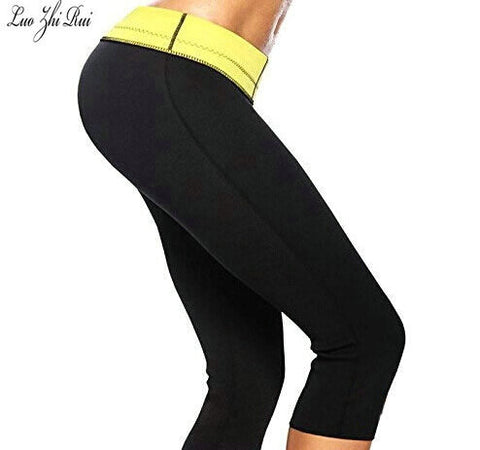 Womens Compression Pants / Slimming Body Shaper Pants / Sweat Pants