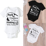 Fishing With Daddy Onsie - Shop4Mojo Products