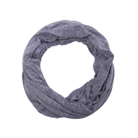 Infinity Scarf with a Side Zip Pocket for Storage
