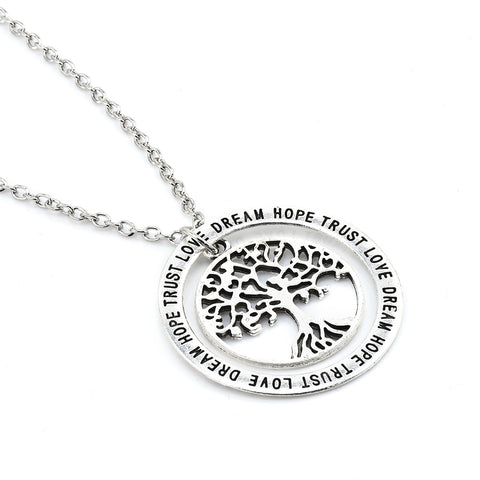 Tree of Life Family Pendant & Necklace