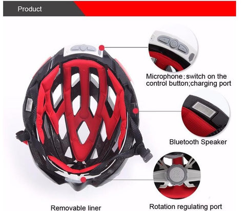 Multifunctional Cycling Smart Helmet - Free Shipping