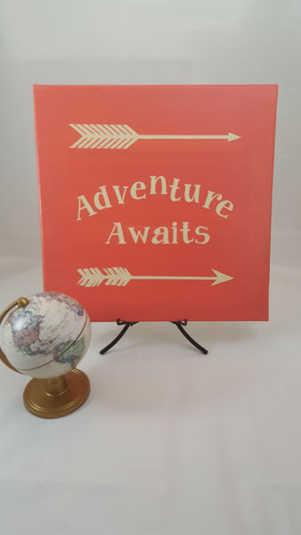 Adventure Awaits ~ Canvas