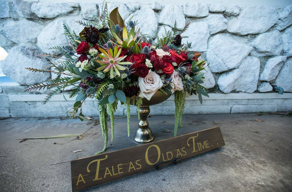 A Tale as Old as Time ~ Hand-Painted Wood Sign