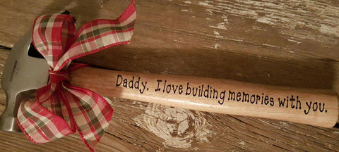 Personalized Hammer - Available with any message