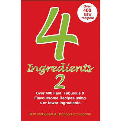 4 Ingredients 2 - cookbook #2 in the series