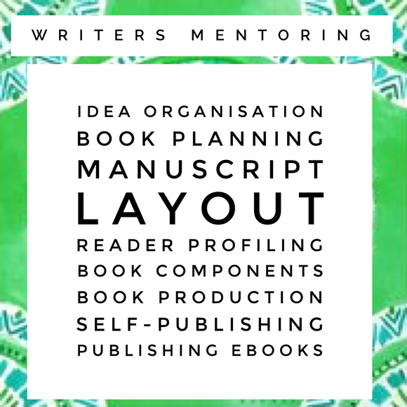 8 Week Writers Mentoring Program