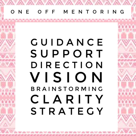 One off mentoring session