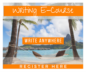 LIMITED TIME ONLY! WRITING E-COURSE - PAYMENT PLAN OPTION