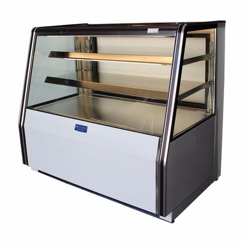 "Coolman 72"" Refrigerated Dry Counter Bakery Display Case - Coolman Refrigeration Inc."